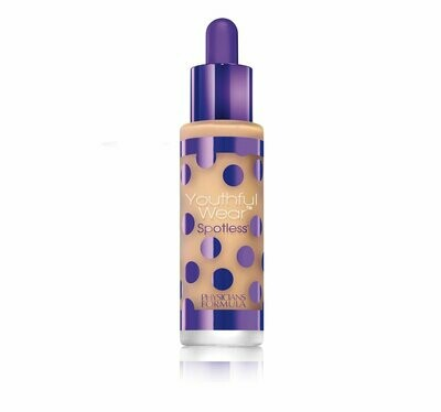 Physicians Formula 170114 Youthful Wear Cosmeceutical Youth-Boosting Spotless Foundation SPF 15
