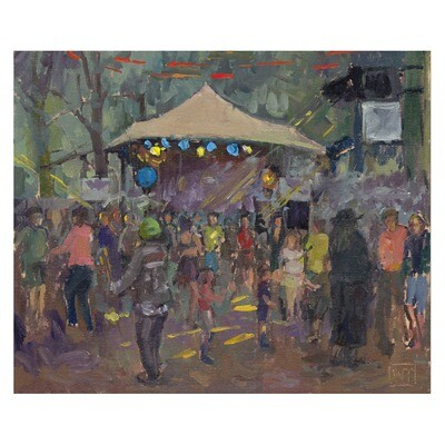 Dancing at the Electric Willows at Standon Calling