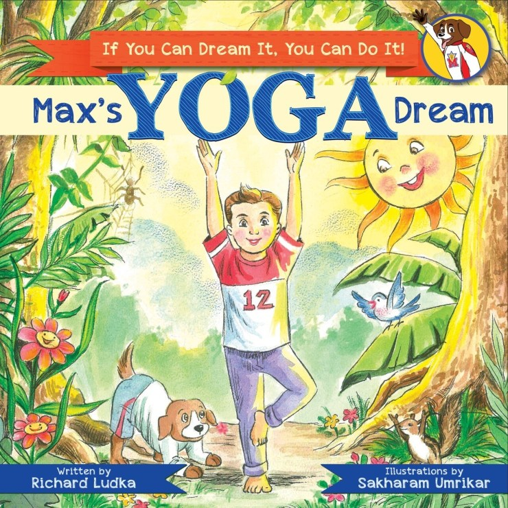 Max's Yoga Dream Softcover