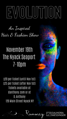 Evolution - An Inspired Hair & Fashion Show Ticket