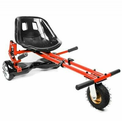 Red Suspension HoverKart Go Kart Convertion For Hoverboard Segway
