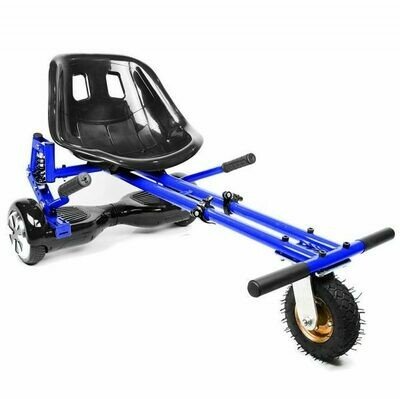 Blue Suspension HoverKart Go Kart Convertion For Hoverboard Segway