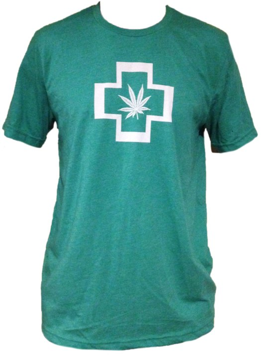 Green Cross Unisex T-shirt AT01027