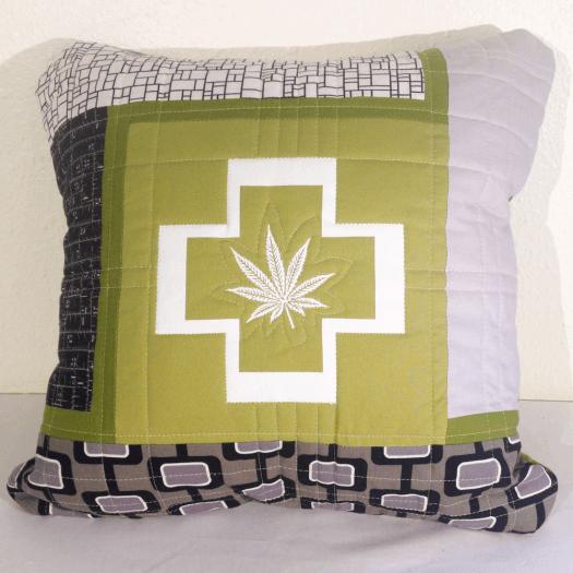Cannabis Pillow No.2