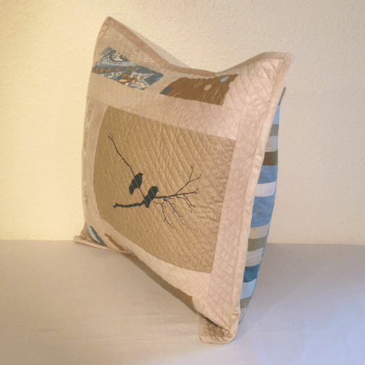 Crow Pillow No. 2 side