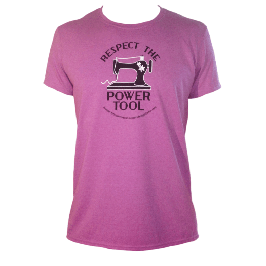 Respect The Power Tool * - Women's Tee Orchid AT01016