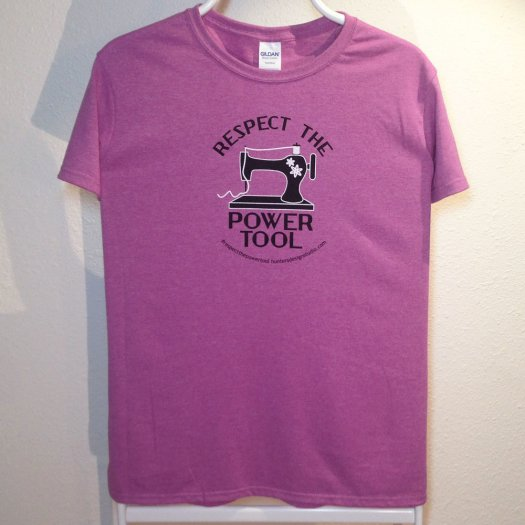 Respect The Power Tool - Women's Tee Orchid