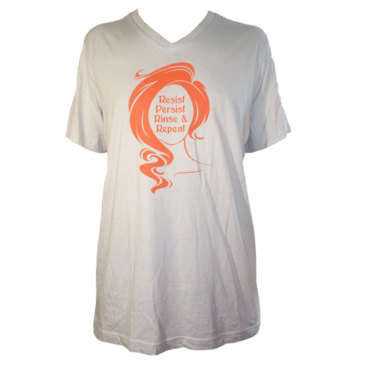 Rinse and Repeat - Unisex V-Neck Tee - Size L