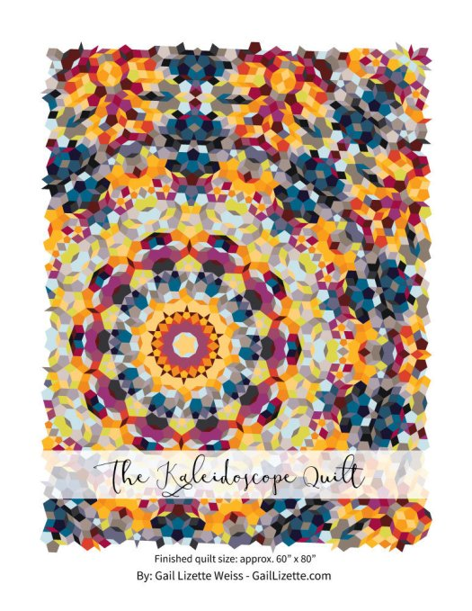 The Kaliedoscope Quilt PDF Pattern - for Hand Piecing QP0016