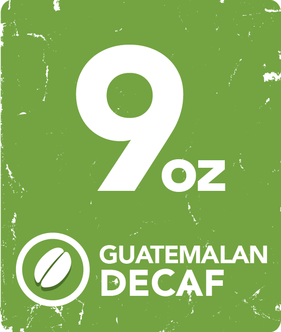 Guatemalan Decaf - 9 oz. Packets or Cases starting at: GUADEC9
