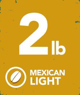 Mexican Light - 2 Pound Bag 14124