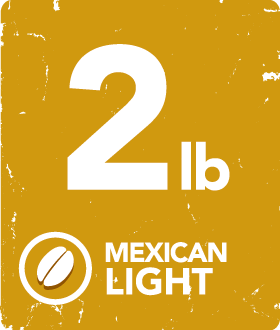 Mexican Light - 2 Pound Bag