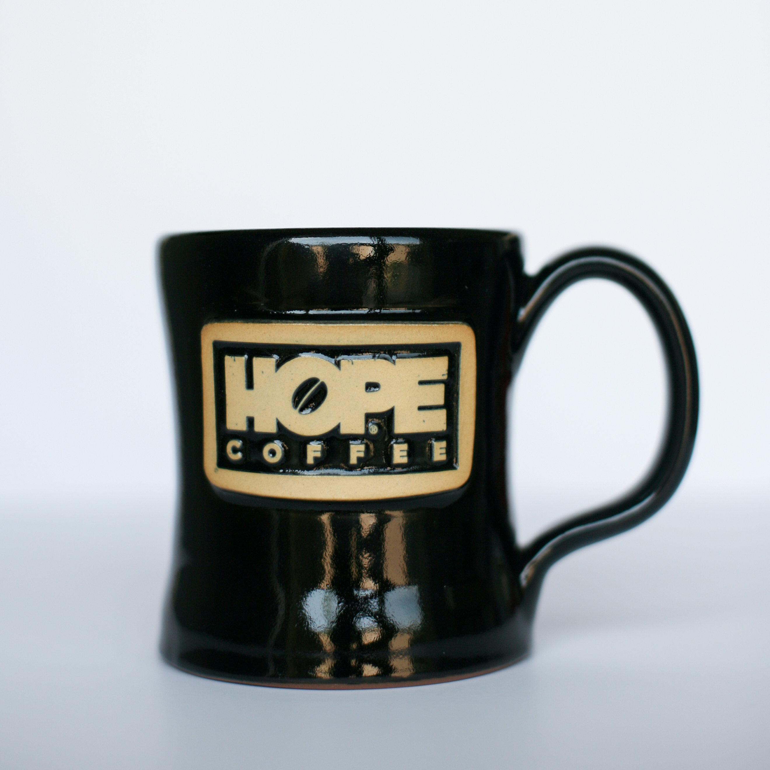 HOPE Coffee 11 oz. Handcrafted Stoneware Mug - Diner Style