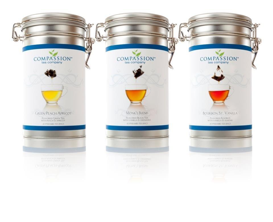 Aluminum Tins for Compassion Tea Storage 19980