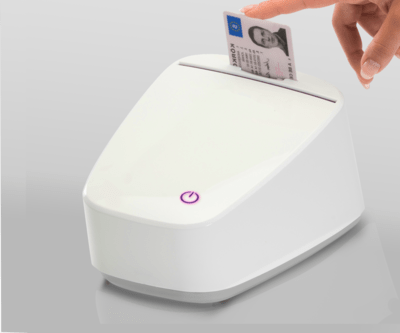 ID-documentscanner standalone AVD-5000 (Huur)