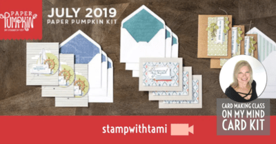 "July 2019 Paper Pumpkin Kit ""On My Mind"" Kit"