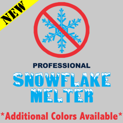 T-Shirt - Professional Snowflake Melter