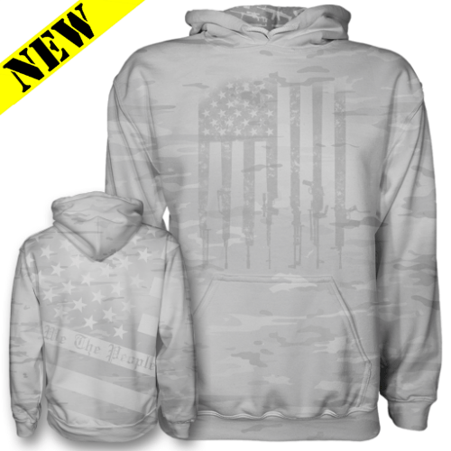 GH Hoodie - We the People (Arctic Camo)