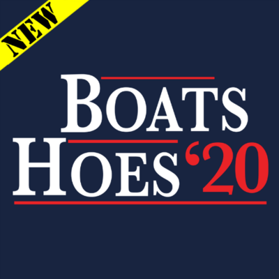 T-Shirt - Boats and Hoes 2020