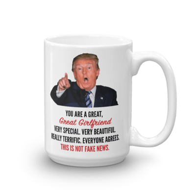 Coffee Mug - Trump Girlfriend