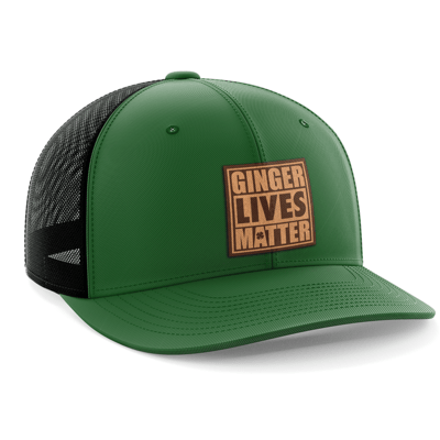 Hat - Leather Patch: Ginger Lives Matter