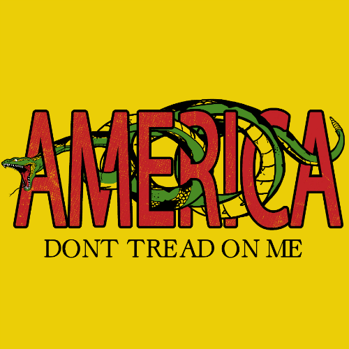 T-Shirt - Dont Tread On Me