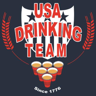 Tank Top - USA Drinking Team