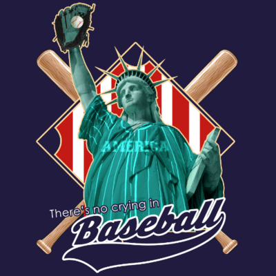 Tank Top - There's No Crying In Baseball