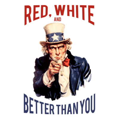 Tank Top - Red, White and Better Than You