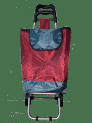 Тележка хозяйственная с сумкой прорезиненной