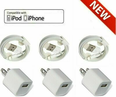8 Pin Apple iPhone Charging cable Combo good quality