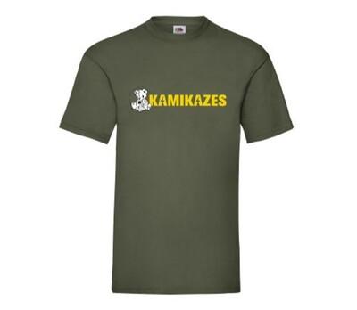 Camiseta Kamikazes gris militar