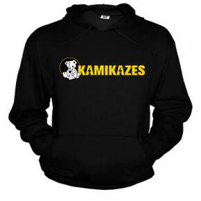 Sudadera negra kamikazes