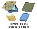 Surgical Sterilization Tray - Large Double Stack 6120A