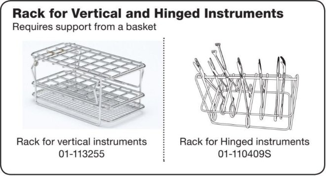 Vertical and Hinged instrument racks