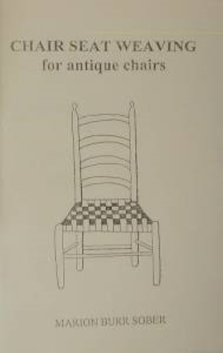 OUT OF STOCK Chair Seat Weaving For Antique Chairs Caning Books Caning Videos