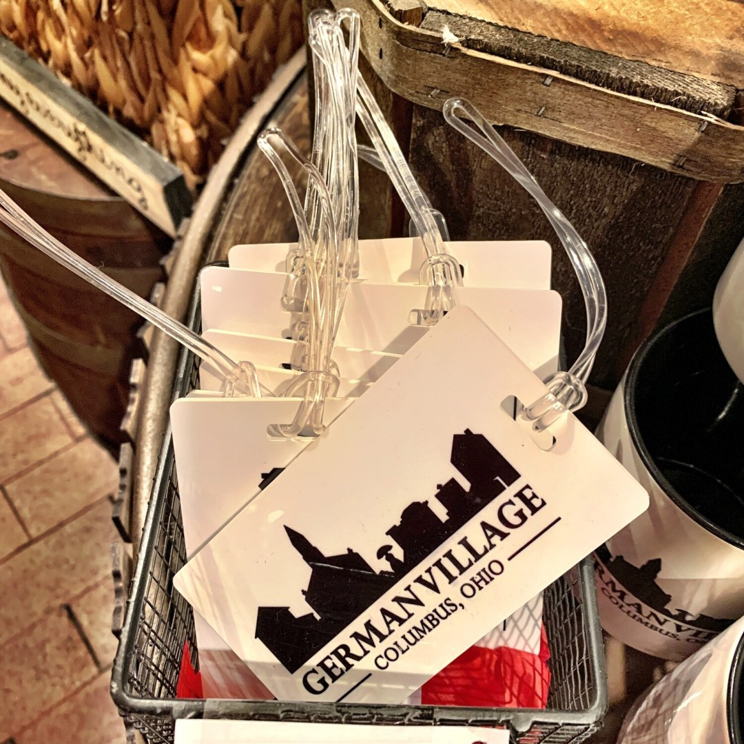 German Village Luggage Tags