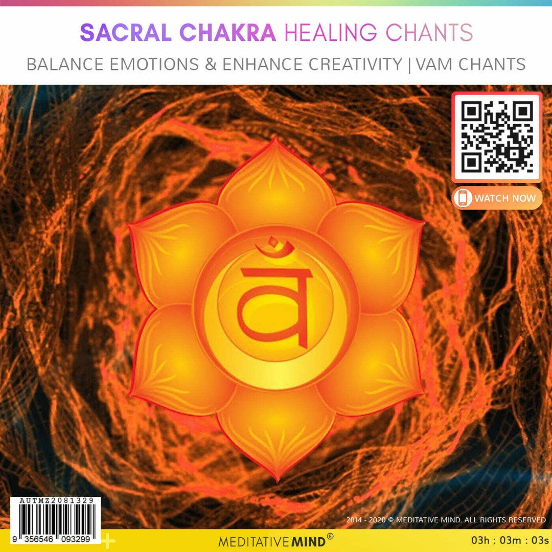 Sacral Chakra Healing Chants - BALANCE EMOTIONS & ENHANCE CREATIVITY | VAM Chants