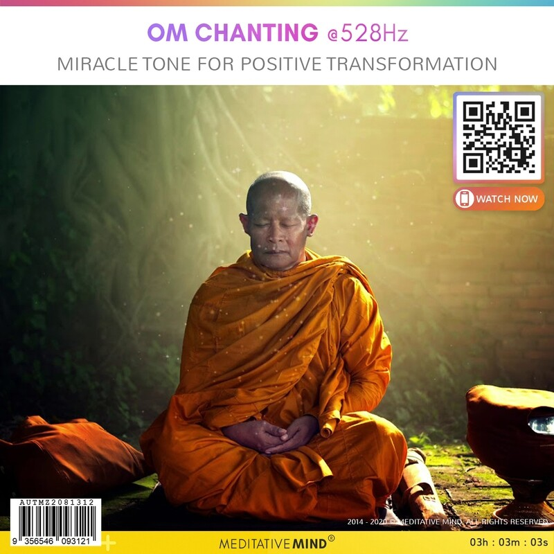 OM Chanting @528 Hz - Miracle Tone for Positive Transformation