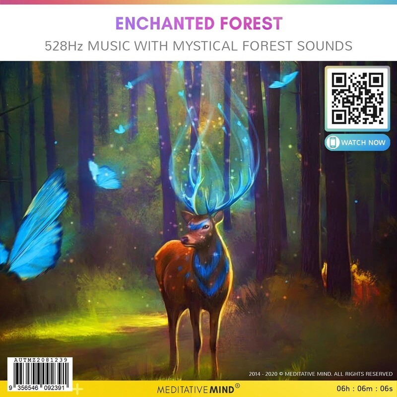 Enchanted Forest - 528Hz Music with Mystical Forest Sounds