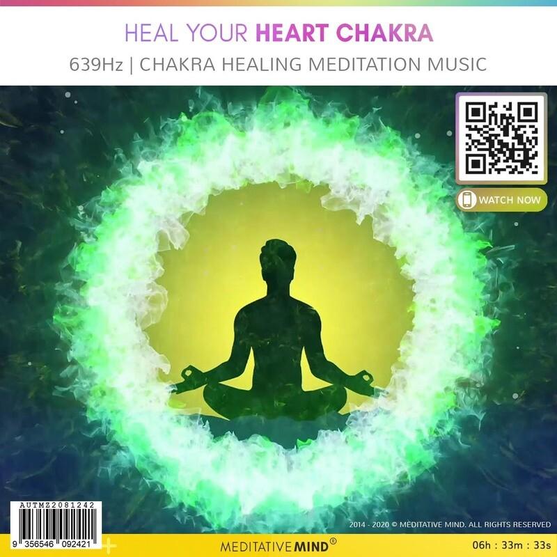 Heal Your Heart Chakra - 639Hz   Chakra Healing Meditation Music