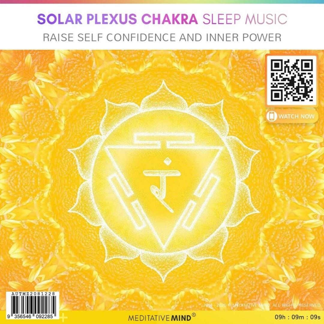SOLAR PLEXUS CHAKRA Sleep Music - Raise Self Confidence and Inner Power