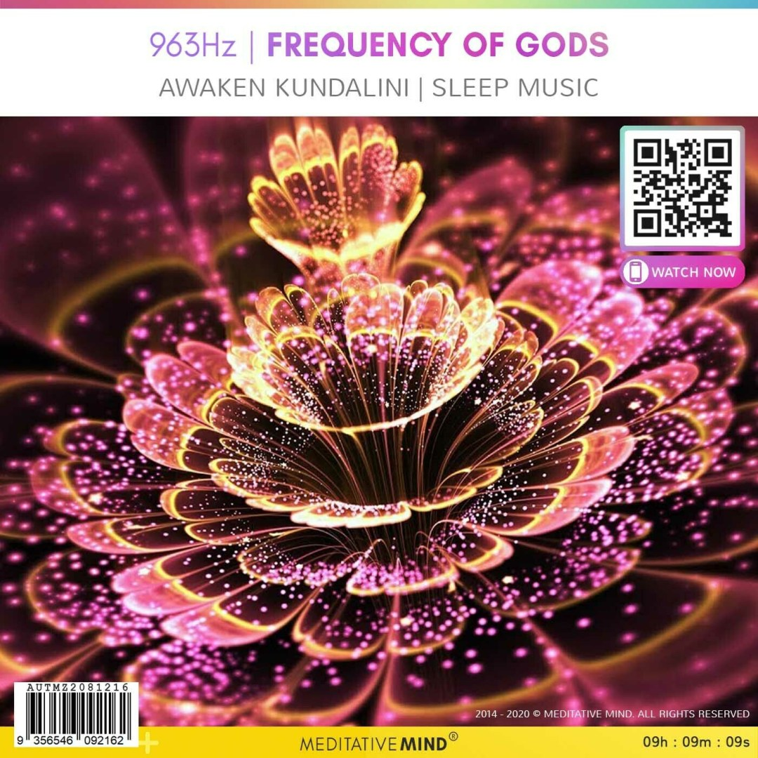 963Hz | FREQUENCY of GODS - Awaken Kundalini | Sleep Music