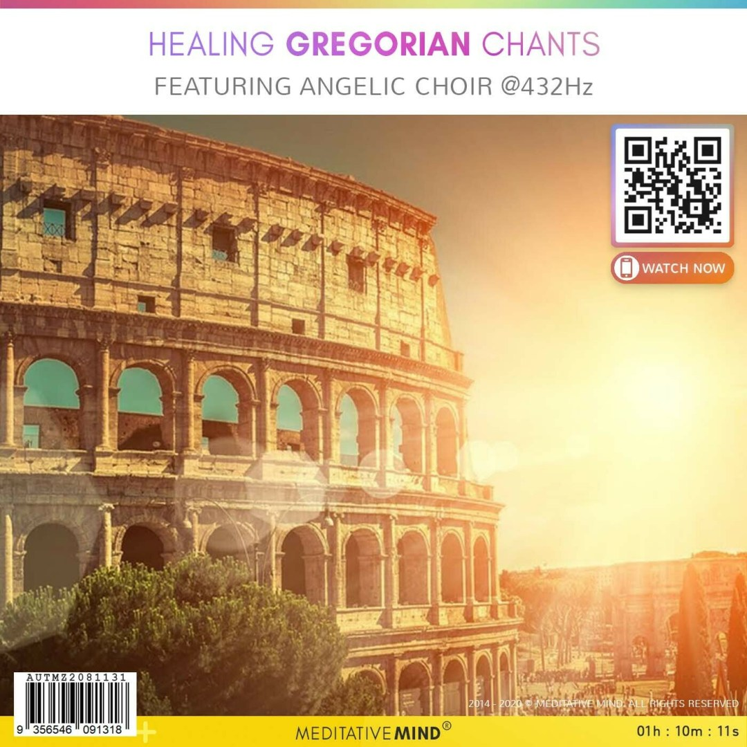 Healing Gregorian Chants - Featuring Angelic Choir @432Hz