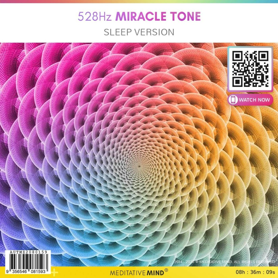 528Hz Miracle Tone - Sleep Version
