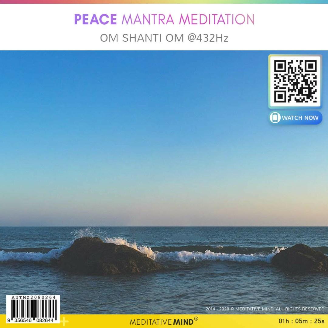 Peace Mantra Meditation - Om Shanti Om @ 432Hz
