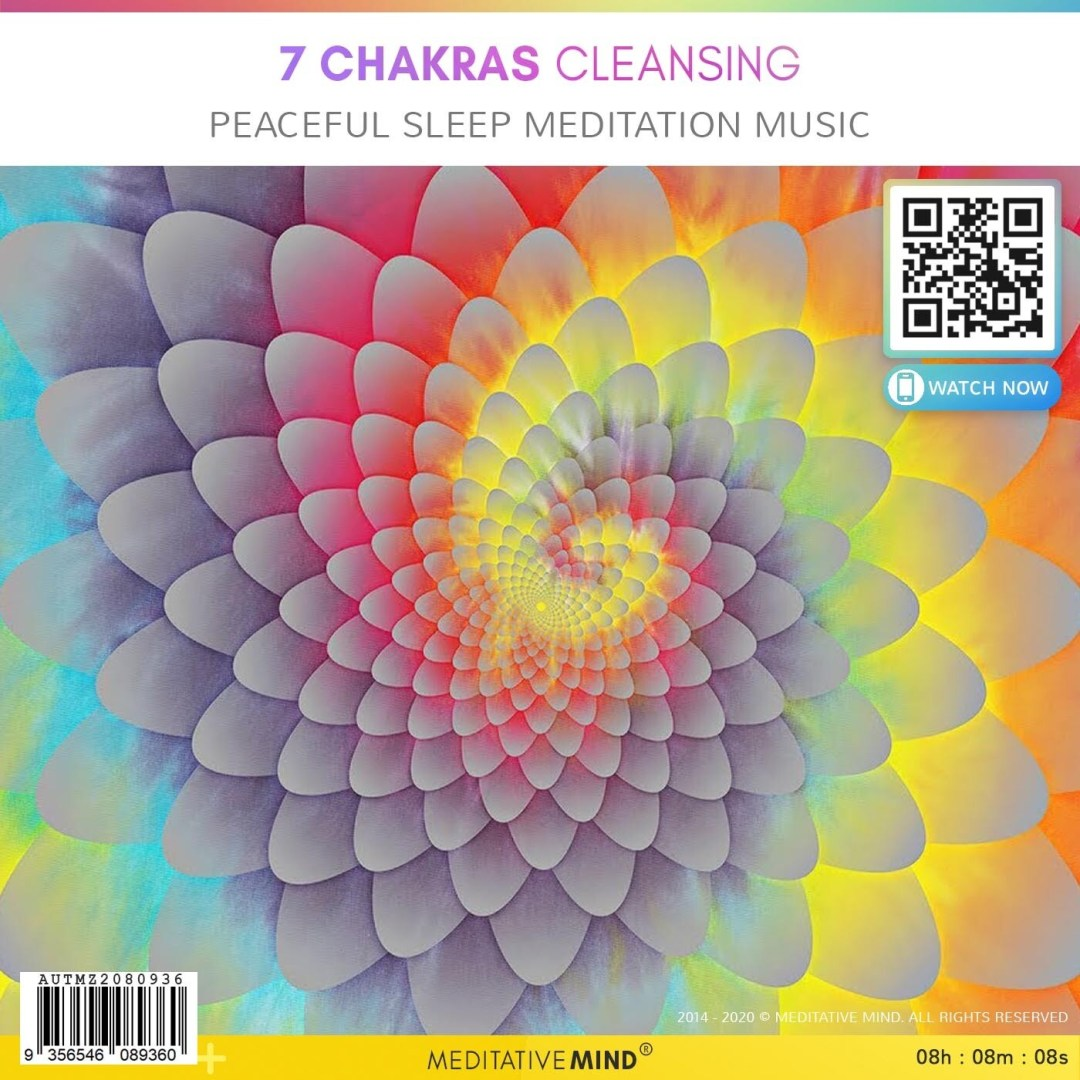 7 Chakras Cleansing - Peaceful Sleep Meditation Music