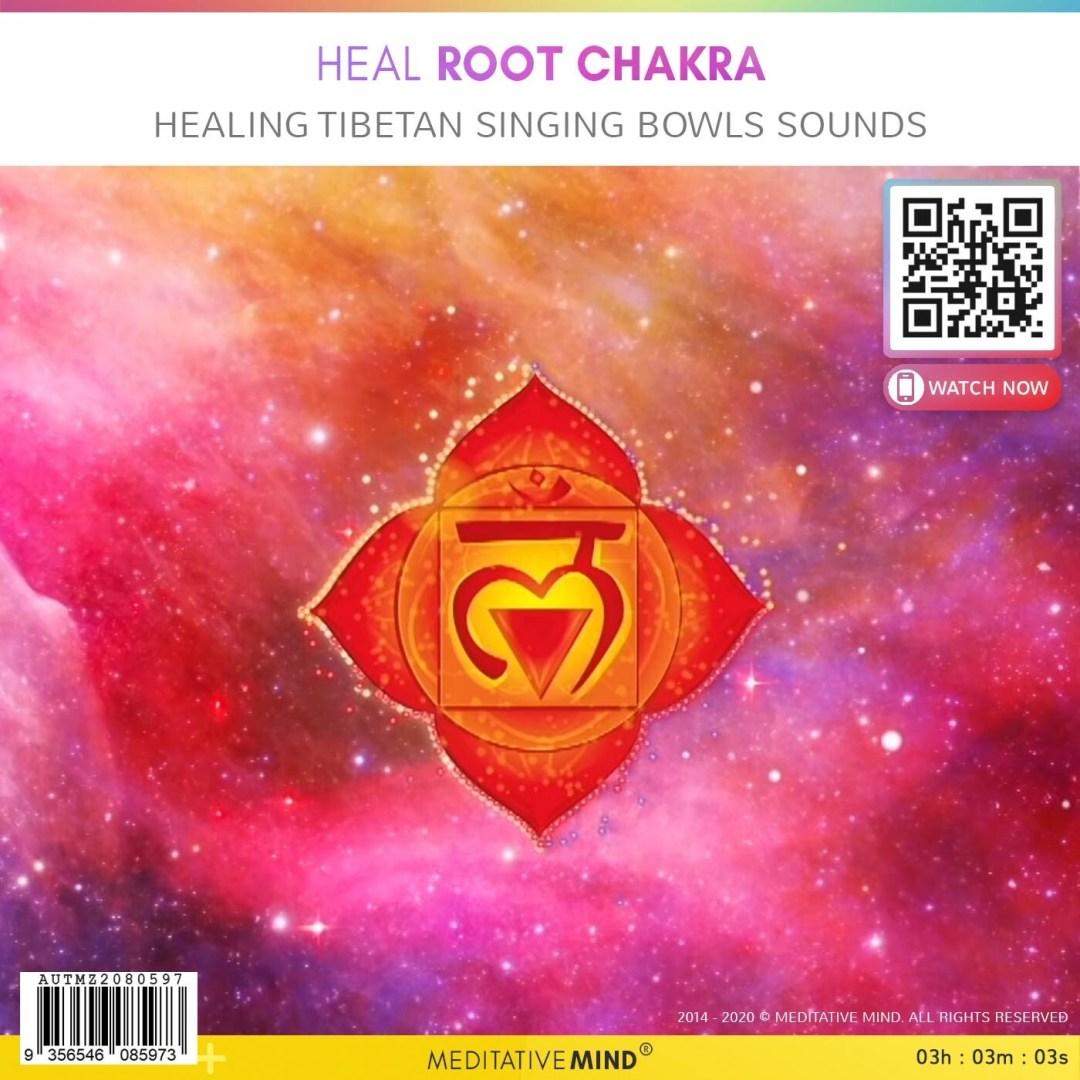 Heal Root Chakra - Healing Tibetan Singing Bowls Sounds