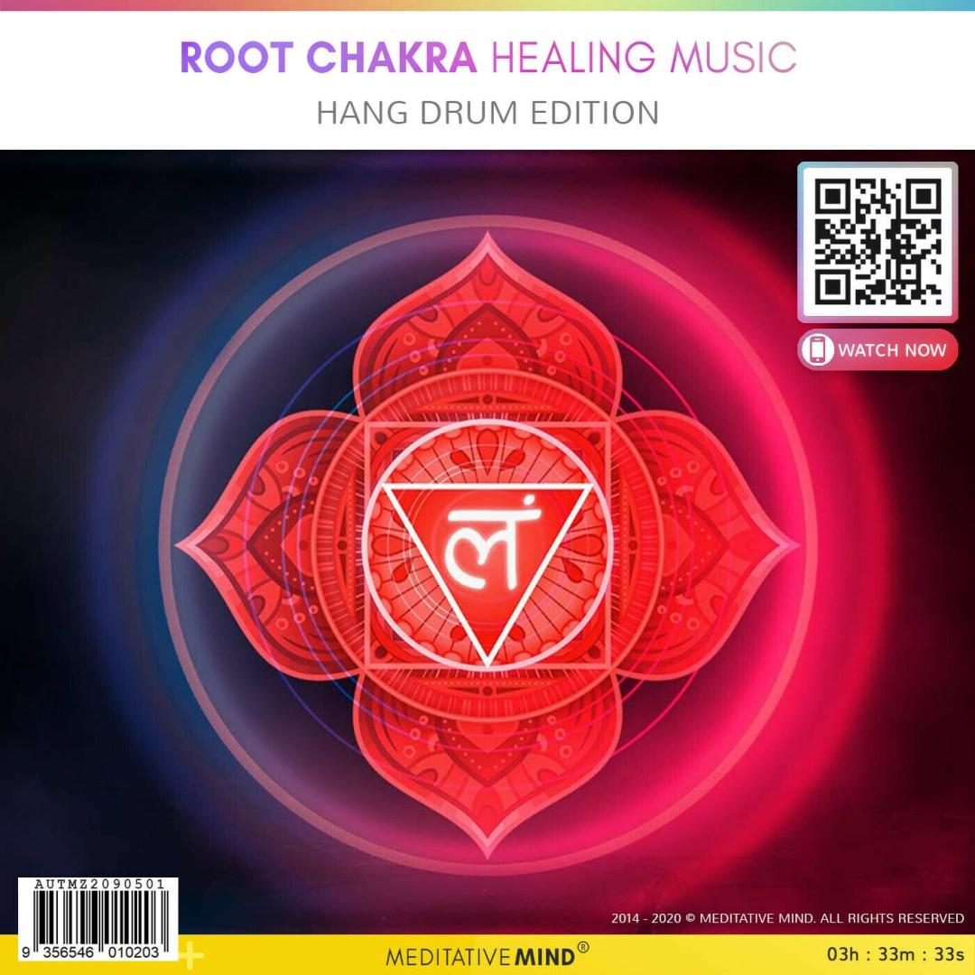 Root Chakra Healing Music - Hang Drum Edition