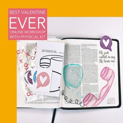 Best Valentine Ever - Online Workshop (with Physical Kit)